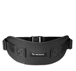 Simms BackSaver Wading Belt - Black