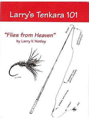 <font color=red>On Sale - Clearance</font><br>TFO Larry's Tenkara 101 Book