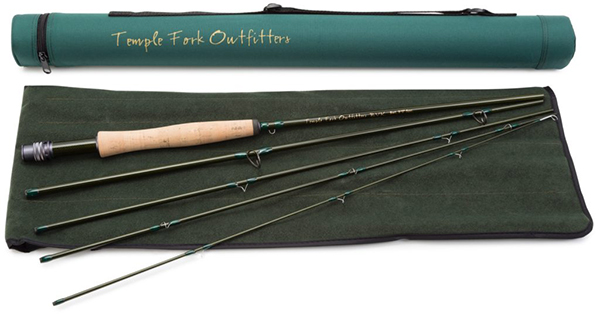 <font color=red>On Sale - Clearance</font><br>TFO BVK Series Fly Rods - 9' 6wt 5pc (TF 06 90 5 B)