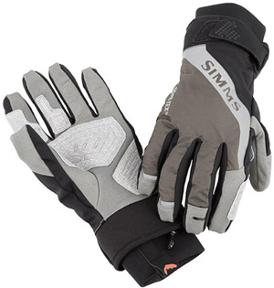 <font color=red>On Sale - Clearance</font><br>Simms G4 Glove - Dark Gunmetal