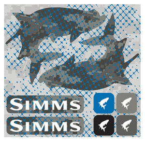 <font color=red>On Sale - Clearance</font><br>Simms Pimp Your Boat Sticker - Tarpon