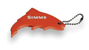 <font color=red>On Sale - Clearance</font><br>Simms Thirsty Trout Key Chain Bottle Opener