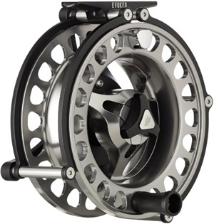 <font color=red>On Sale - Clearance</font><br>Sage Evoke Fly Reels - Stealth/Platinum