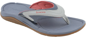 <font color=red>On Sale - Clearance</font><br>Simms Women's Atoll Flip - Blossom