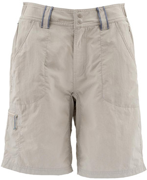 <font color=red>On Sale - Clearance</font><br>Simms Women's Drifter Short - River Rock
