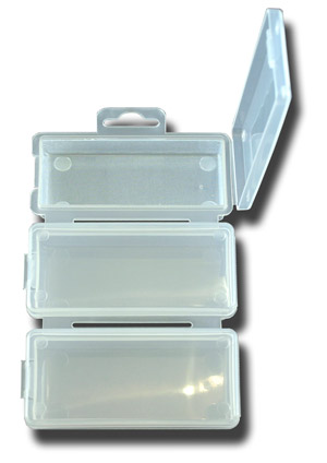 3 Compartment Pocket Fly Box