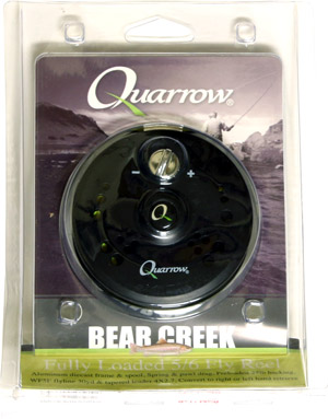 Quarrow Bear Creek Fully Loaded 5/6wt Reel