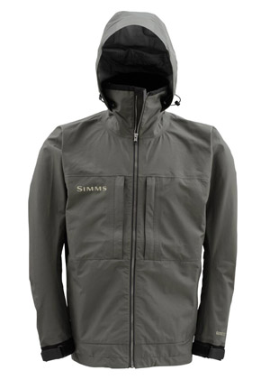 <font color=red>On Sale - Clearance</font><br>Simms Contender Gore-Tex Jacket - Dk Gunmetal