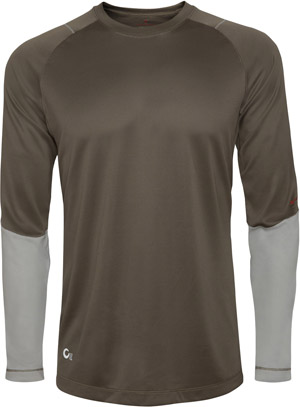 <font color=red>On Sale - Clearance</font><br>Redington Sonicdry Baselayer Crew - Terra