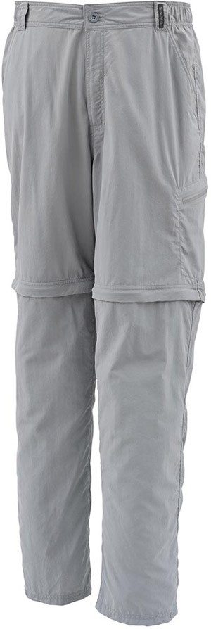 <font color=red>On Sale - Clearance</font><br>Simms Superlight Zip-Off Pant - Concrete