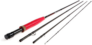 <font color=red>On Sale - Clearance</font><br>Redington Vapen Fly Rod - Red