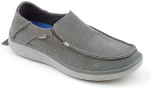 <font color=red>On Sale - Clearance</font><br>Simms Westshore Slip On Shoe - Charcoal